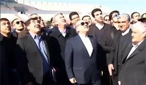 بهره برداری استادیوم مراغه با حضور وزیر ورزش