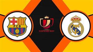 خلاصه بازی بارسلونا 1 - رئال مادرید 1 (گزارش انگلیسی)