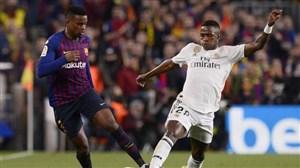 عملکرد وینسیوس جونیور در برابر بارسلونا