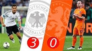 بازی خاطره انگیز آلمان - هلند در سال 2011