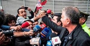 استقبال هوادار ایرانی از کارلوس کی روش در کلمبیا