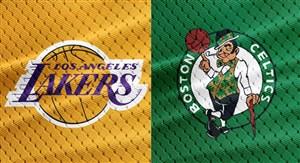 خلاصه بسکتبال بوستون سلتیکس - لس آنجلس لیکرز