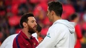 لحظات جذاب تقابل های مسی و رونالدو در ال کلاسیکو