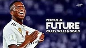 مهارتهای وینیسیوس جونیور در رئال مادرید