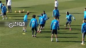 تمرین امروز رئال مادرید (19-11-97)