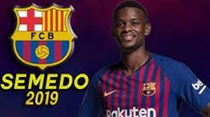 مهارتهای نلسون سمدو در بارسلونا 2019