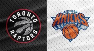 خلاصه بسکتبال نیویورک نیکس - تورنتو رپترز