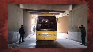 عصبانیت بیرانوند و جلوگیری از پیاده شدن پرسپولیسی ها در ورزشگاه غدیر