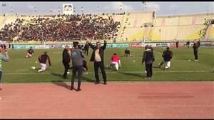 اختصاصی؛ تشویق ویژه برانکو روی سکوهای استادیوم غدیر