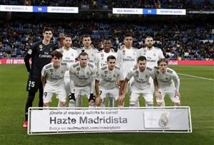 ترکیب رئال مادرید برای دیدار با آژاکس اعلام شد
