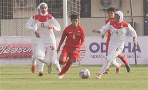 دومین شکست تیم ملی بانوان در هند