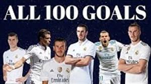 تمام 100 گل گرت بیل در رئال مادرید