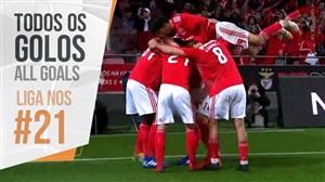 تمام گل های هفته بیست و یکم لیگ پرتغال 2019