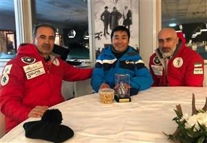 دیدار رئیس فدراسیون اسکی با رئیس آسیا