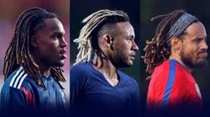 مدل موهای متفاوت بازیکنان فوتبال