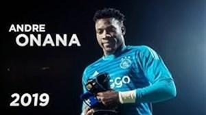 برترین سیوهای آندره اونانا گلر کامرونی آژاکس 2019