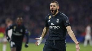 گل اول رئال مادرید به سلتاویگو (کریم بنزما)