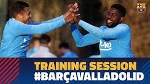 تمرینات تیم بارسلونا(25-11-97)