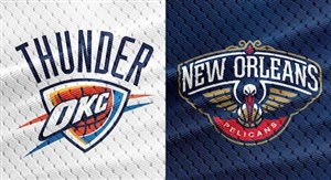 خلاصه بسکتبال نیو اورلینز - اوکلاهاما
