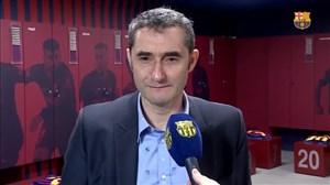 صحبتهای مربی بارسلونا پس از تمدید قرارداد با باشگاه