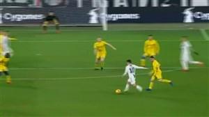 شوت تماشایی پائولو دیبالا گل اول یوونتوس به فروزینونه