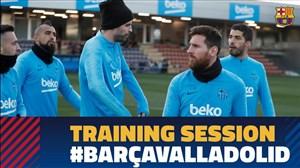 تمرین امروز تیم بارسلونا (27-11-97)