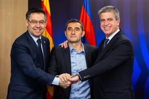 امضای تمدید قرارداد والورده با بارسلونا
