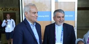 سجادی، سرپرست کاروان ایران در المپیک ۲۰۲۰