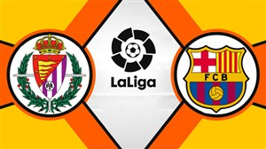 خلاصهبازی بارسلونا 1 - وایادولید 0