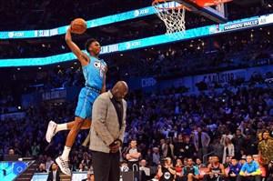 چالش اسلم دانک ستارگان لیگ NBA در شب گذشته