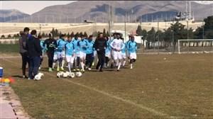 اختصاصی ورزش سه: تمرین مدافعان و مهاجمان استقلال زیر نظر طاهری و کولی(28-11-97)