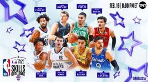 چالش حرکات انفرادی ستارگان لیگ NBA در شب گذشته