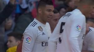 گل اول رئال مادرید به خیرونا(کاسمیرو)