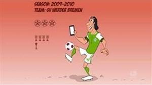 رکوردشکنی پیزارو در بوندسلیگا به روایت انیمیشن