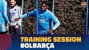 تمرینات امروز بارسلونا (28-11-97)
