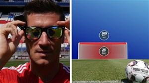 چالش بازیکنان بایرن مونیخ با عینکهای عجیب
