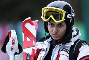 اقدام جوانمردانه دختر اسکیباز در مسابقات جهانی
