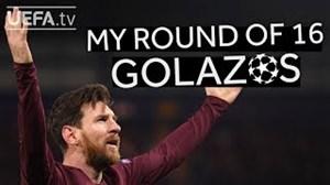 برترین گلهای مسی در مرحله 1/16 لیگ قهرمانان