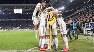 تمامی گلهای یوونتوس در لیگ قهرمانان اروپا 19-2018