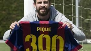 به بهانه رسیدن جرارد پیکه به رکورد 300 بازی در بارسلونا