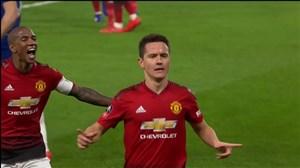 گل اول منچستر یونایتد به چلسی (هررا)