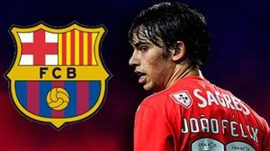 مهارت های ژوآئو فلیکس، پدیده جوان مد نظر بارسلونا