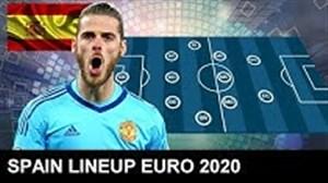 ترکیب احتمالی تیم ملی اسپانیا در یورو 2020