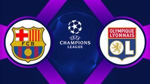 خلاصهبازی لیون 0 - بارسلونا 0