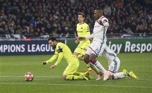 لیون 0-0 بارسلونا: توقف دوباره آبی و اناری ها
