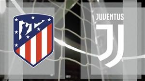 تمرینات تیمهای اتلتیکو مادرید-یوونتوس قبل از بازی امشب