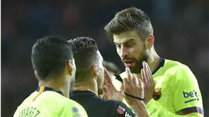 حمله تند و عجیب جرارد پیکه به رئال مادرید!