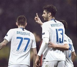 صعود مقتدرانه اینتر به دور بعدی لیگ اروپا
