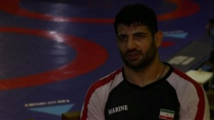 گزارشی از تمرین تیم ملی کشتی ایران