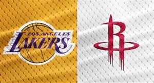 خلاصه بسکتبال هیوستون راکتس - لس آنجلس لیکرز